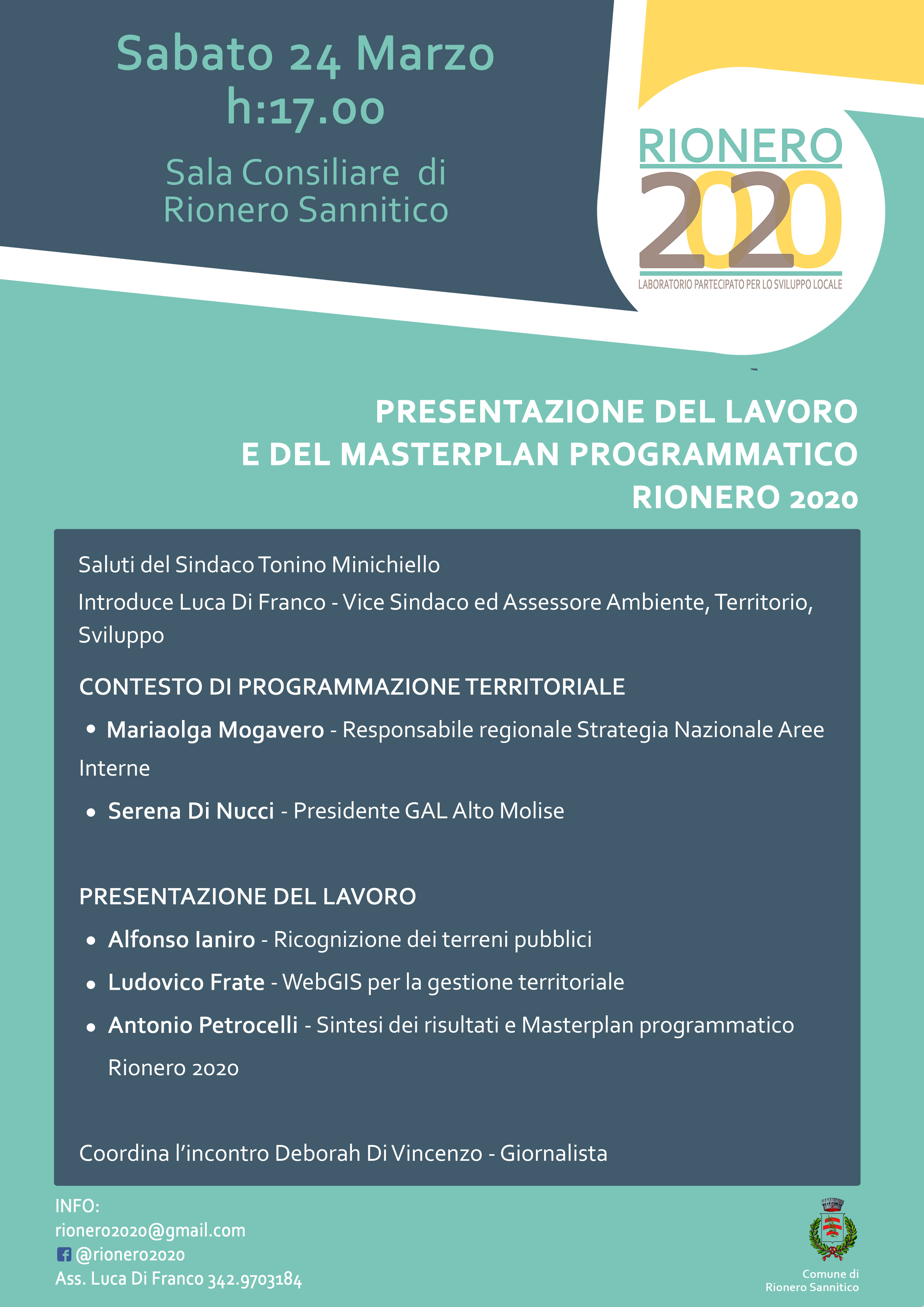 RIONERO2020 INCONTRO FINALE